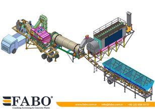 новый асфальтный завод Fabo Installation of asphalt of any capacity mobile and fixed