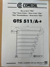 башенный кран COMEDIL GTS 511