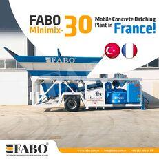 новый бетонный завод Fabo MINIMIX-30M3/H MINI CENTRALE A BETON MOBILE