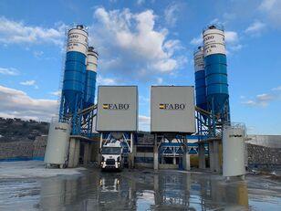 новый бетонный завод Fabo POWERMIX-200 STATIONARY CONCRETE BATCHING PLANT