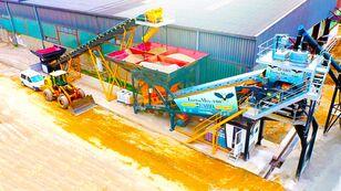 новый бетонный завод Fabo TURBOMIX-100 MOBILE CONCRETE PLANT READY