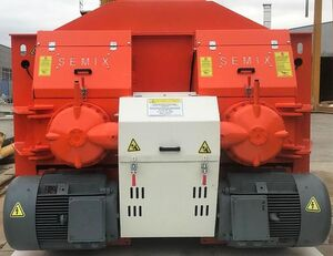 новая бетономешалка SEMIX TWIN SHAFT CONCRETE MIXER 2 m³/ 3 m³/ 4 m³/ 5 m³
