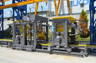 новое оборудование для производства бетонных блоков ELKON ELKOBLOCK-36S FULLY AUTOMATIC SINGLE LAYER Concrete Block Machin